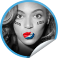 Half-time sticker - beyonce fan art
