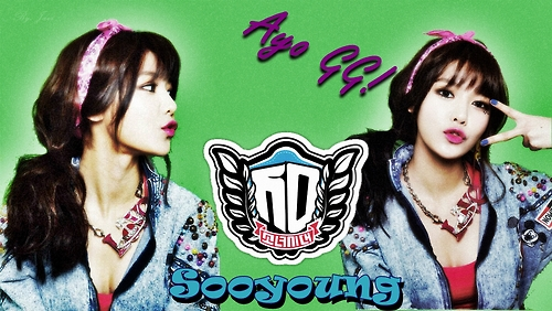 kpop 4ever wallpaper probably with a portrait entitled Happy Birthday Sooyoung!<3