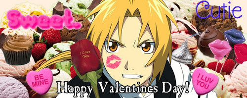 Full Metal Alchemist wallpaper entitled Happy Valentine's Day!