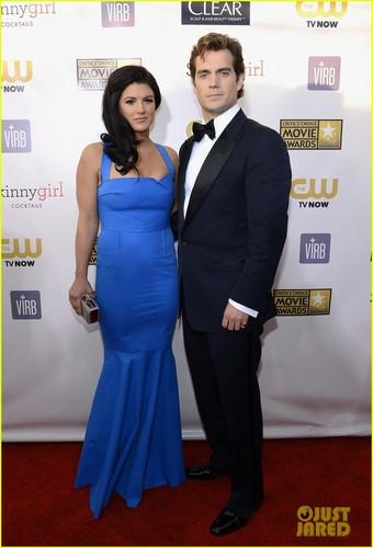 Henry Cavill & Gina Carano 2013