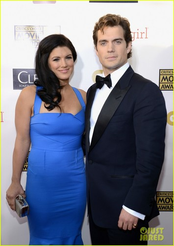 Henry Cavill images Henry Cavill & Gina Carano 2013 HD wallpaper and background photos