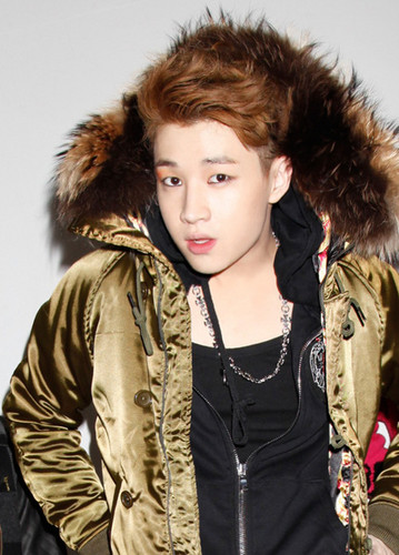Henry Lau of Suju m!! wallpaper possibly with a box coat, an outerwear, and an overgarment titled Henry