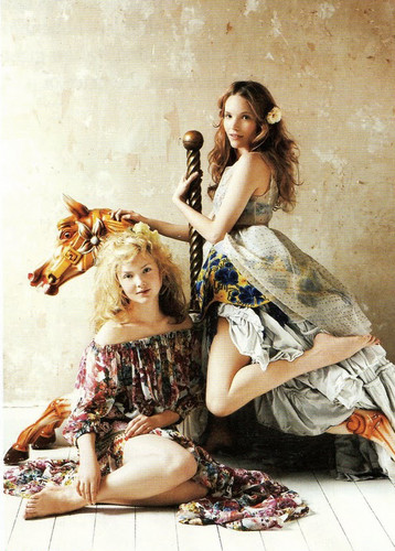 Holliday Grainger & Tamzin Merchant