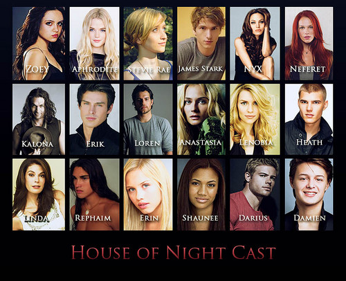 House of Night Cast