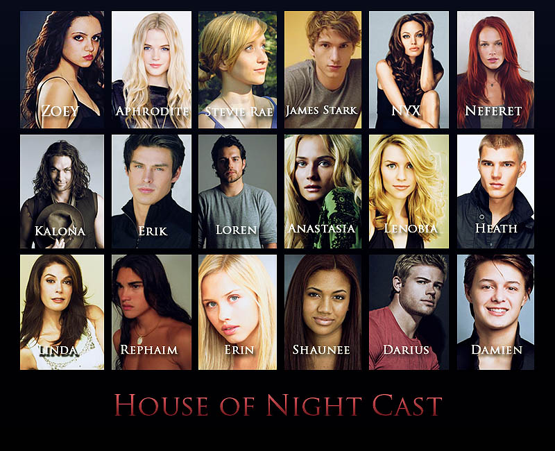 house of night cast house of night series photo