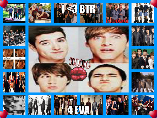 Big Time Rush wallpaper called I love BTR!!!!