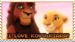 I love KovuxKiara - the-lion-king icon