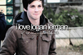 I love.. - logan-lerman photo