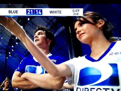 Ian and Nina Celebrity spiaggia Bowl 2013