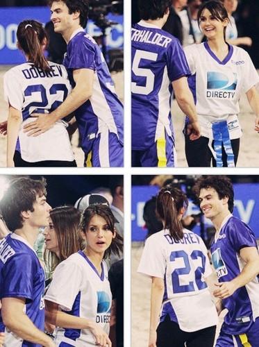 Ian and Nina Celebrity tabing-dagat Bowl 2013