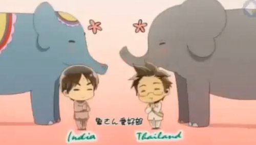 India and Thailand