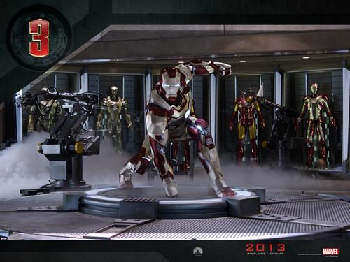Iron Man 3 바탕화면