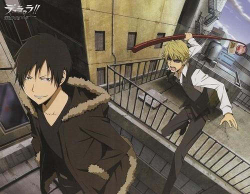 Izaya and Shizuo