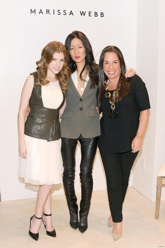 January 29: Anna Kendrick and Barney's New York Host a Private Dinner to Celebrate the Launch of the