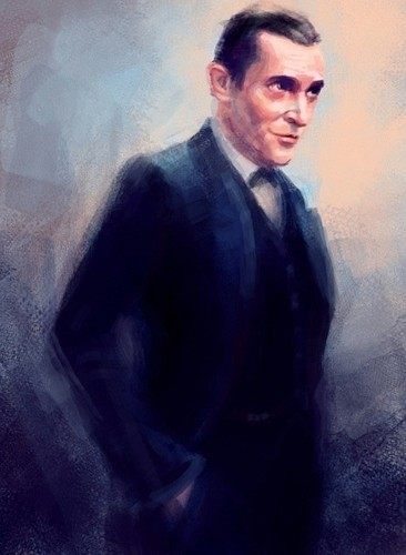 Sherlock Holmes 바탕화면 probably with a business suit entitled Jeremy Brett