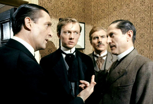 Sherlock Holmes 바탕화면 containing a business suit, a suit, and a two piece called Jeremy Brett