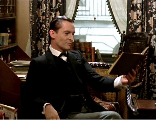 Sherlock Holmes wallpaper containing a business suit titled Jeremy Brett