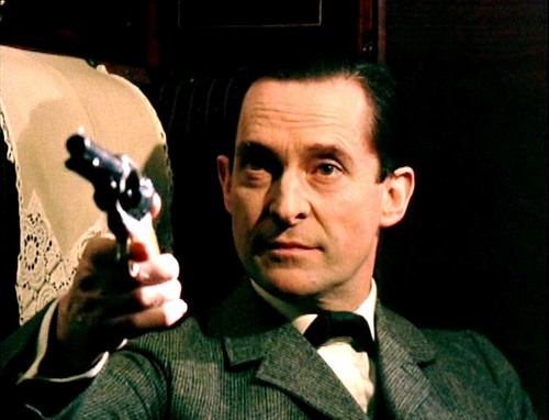 Sherlock Holmes 바탕화면 entitled Jeremy Brett