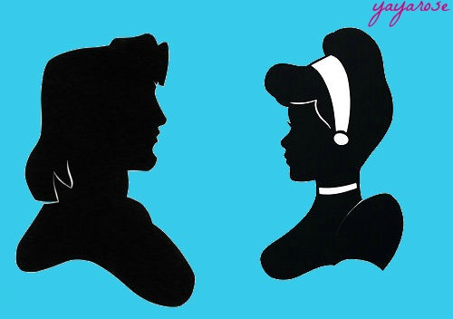 John Smith and Cinderella Silhouettes