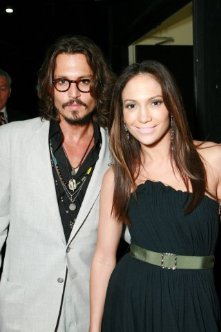 Johnny Depp & Jennifer Lopez - 2006