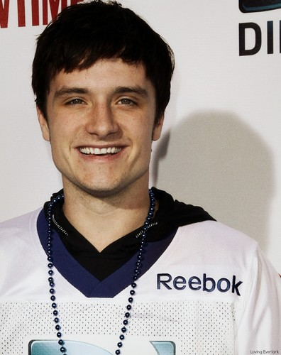 Josh Hutcherson at the DIRECTv Celebrity Beach Bowl  2 2 2013  - josh    Josh Hutcherson Cute 2013