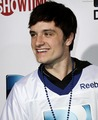 Josh Hutcherson at the DIRECTv Celebrity Beach Bowl (2/2/2013) - josh-hutcherson fan art