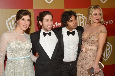 Kaley @ InStyle And Warner Bros. Golden Globe Party