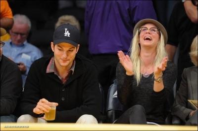 Kaley @ LA Lakers Game
