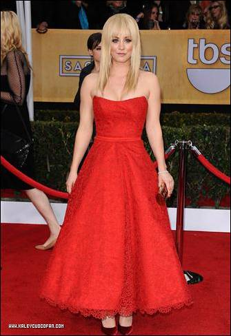 Kaley @ Screen Actors Guild Awards ছবি