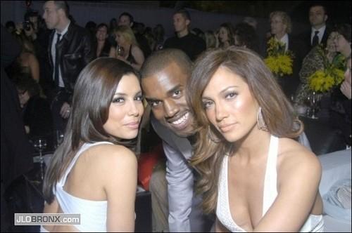 Kanye West, Eva Longoria, Jennifer Lopez - 2007