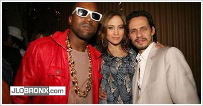 Kanye West & Jennifer Lopez - 2006