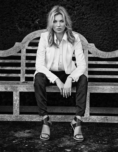 Kate Moss for rag & bone spring 2013