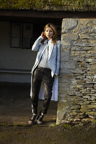 Kate Moss wallpaper containing a street called Kate Moss for rag & bone spring 2013