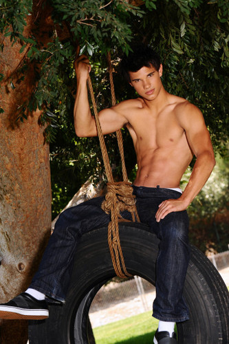 Taylor Lautner wallpaper probably containing a horse trail titled Keith Munyan photoshoot outtakes