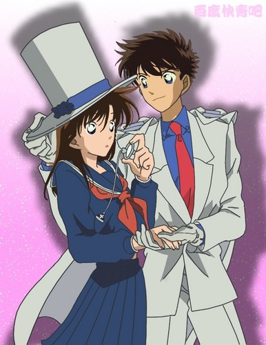 Kuroba kaito and aoko