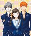 Kyo, Tohru, Yuki