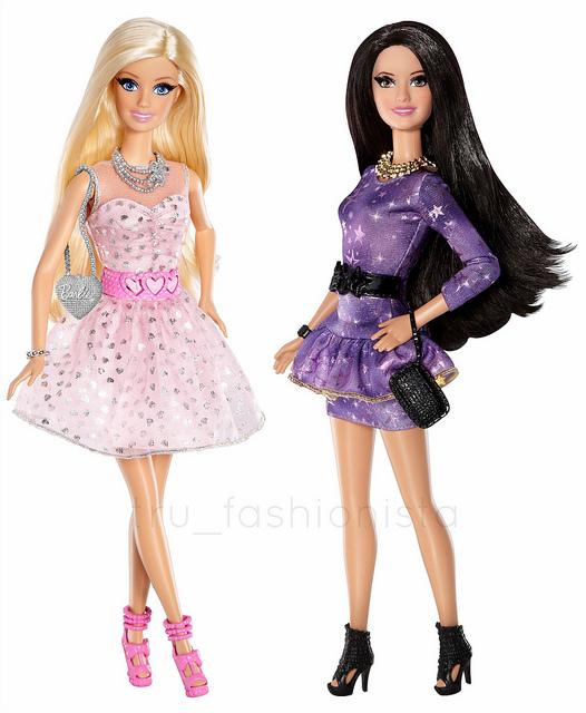 LITD Barbie And Raquelle Talking Dolls