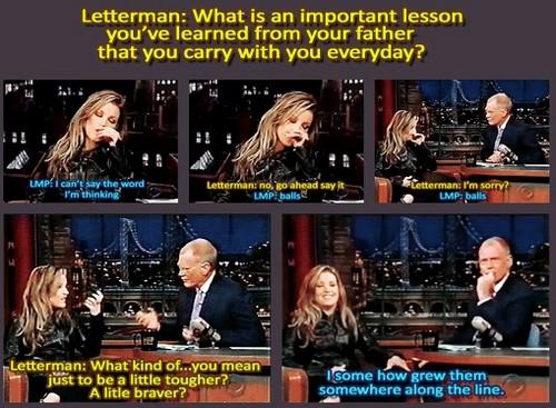 LMP on Letterman