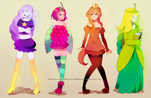LSP,hot dog princess,wild berry princess,turtle princess