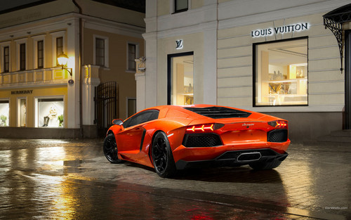 Lamborghini karatasi la kupamba ukuta