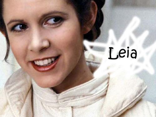 Princess Leia Organa Solo Skywalker wallpaper probably with a portrait entitled Leia