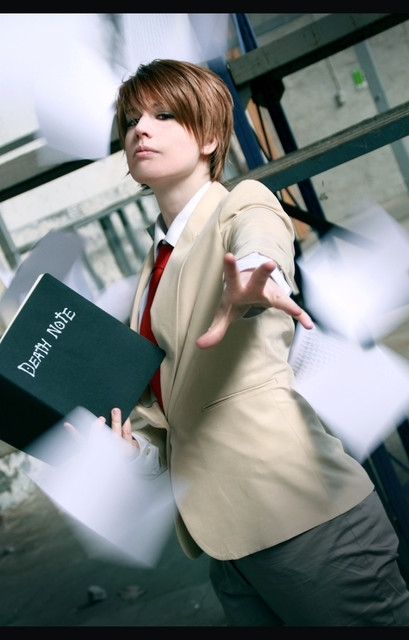 Light Cosplay - Death Note Photo (33592496) - Fanpop