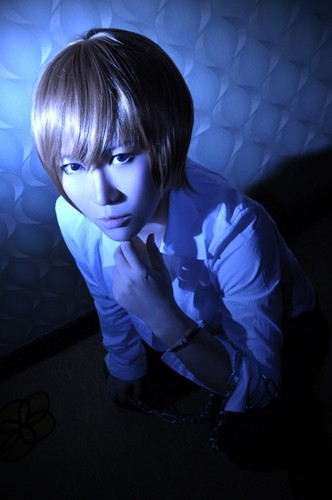 death note wallpaper called Light Cosplay