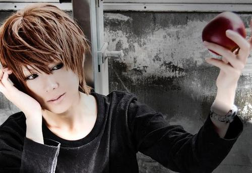 death note wallpaper entitled Light Cosplay