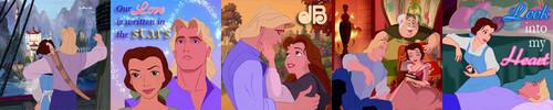 LightningRed's 5 in 1 ikoni Set - John Smith & Belle