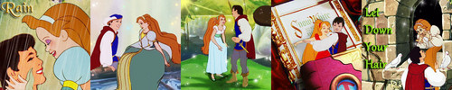 LightningRed's 5 in 1 icoon Set - Prince and Thumbelina