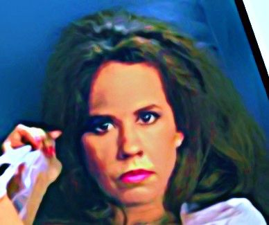The Linda Blair Pretty Corner দেওয়ালপত্র with a portrait called Linda Blair