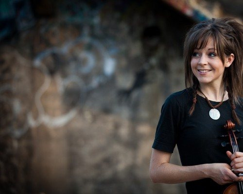 Music wallpaper titled Lindsey Stirling