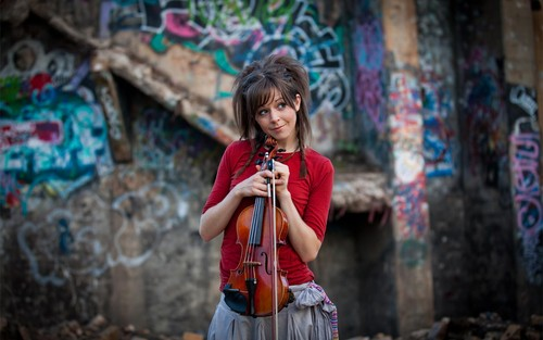 Music wallpaper called Lindsey Stirling