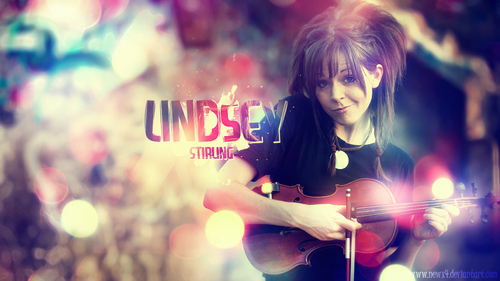 Lindsey Stirling 바탕화면 probably containing a 음악회, 콘서트 and a guitarist titled Lindsey